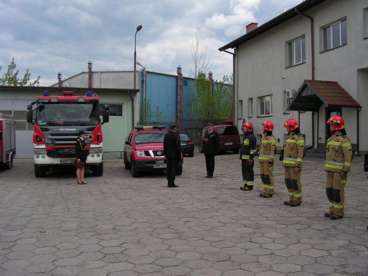 Dzień Strażaka w Komendzie Powiatowej PSP w Białobrzegach